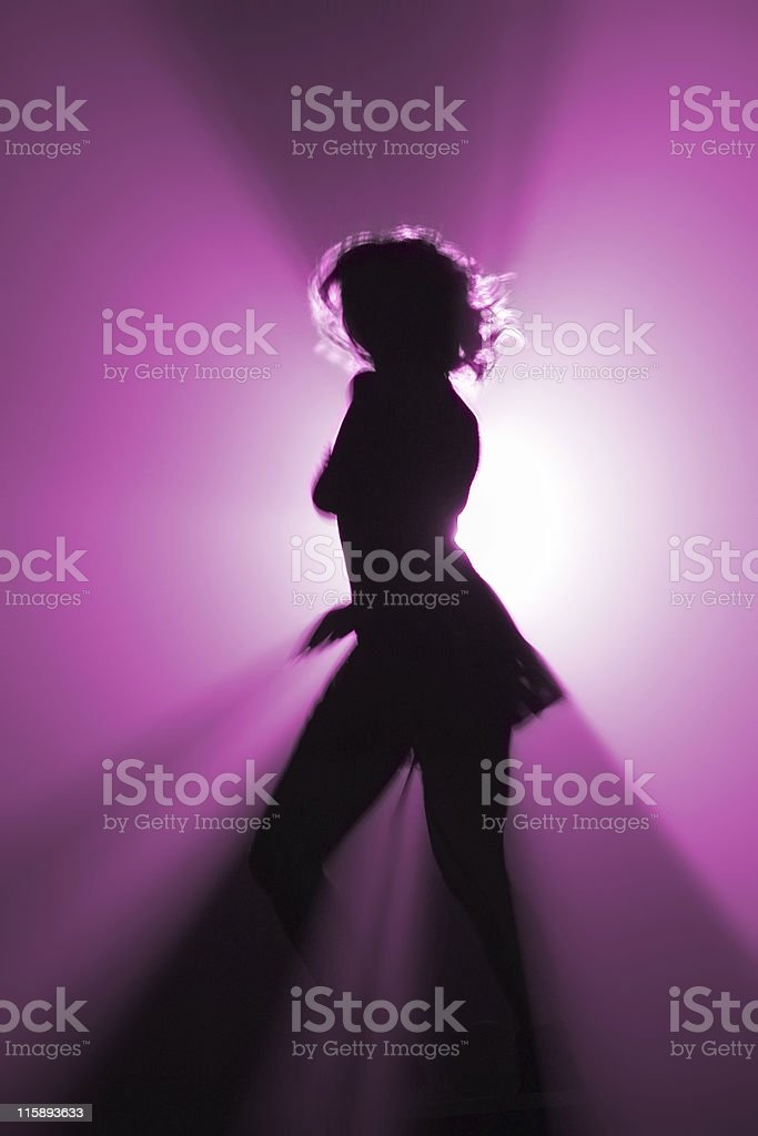 party dancer royalty-free stock photo