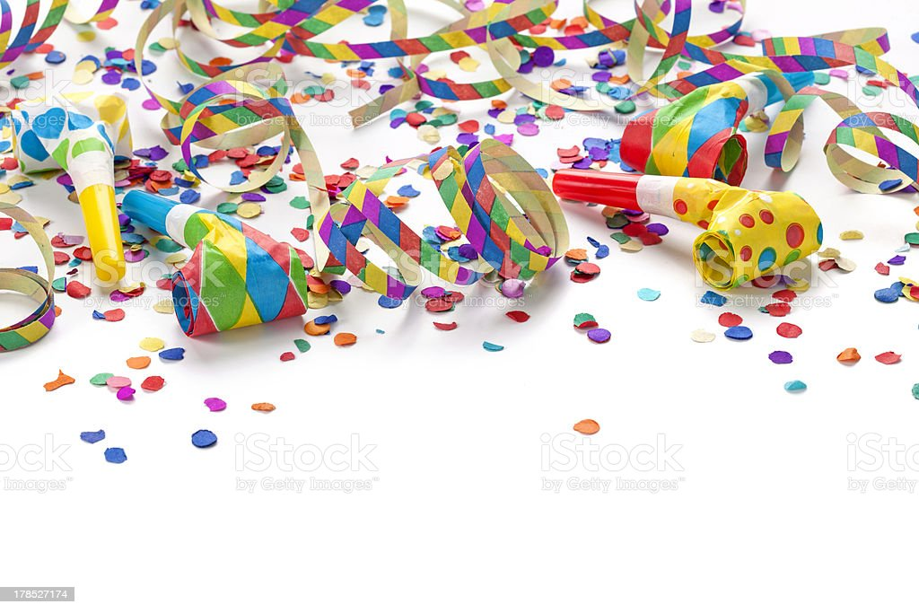 Party decoration stock photo