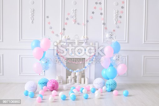 Party Decorations Birthday One Year Stock Photo More Pictures Of Baked Pastry Item