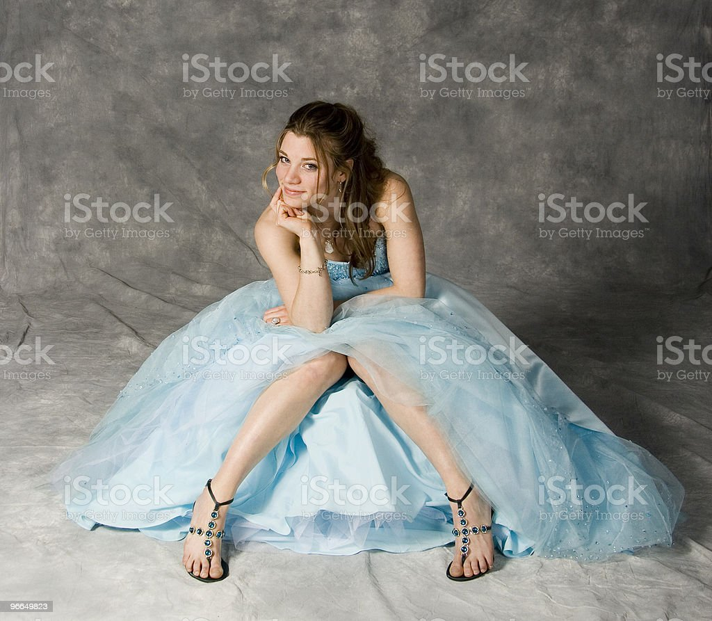 party dress stock photo
