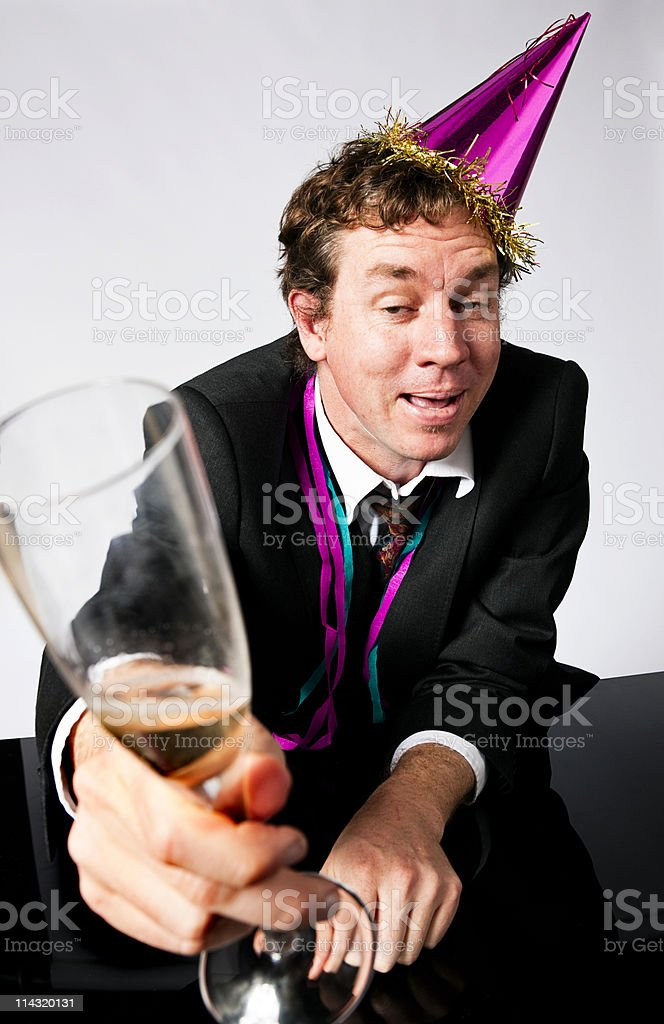 Party drunk royalty-free stock photo
