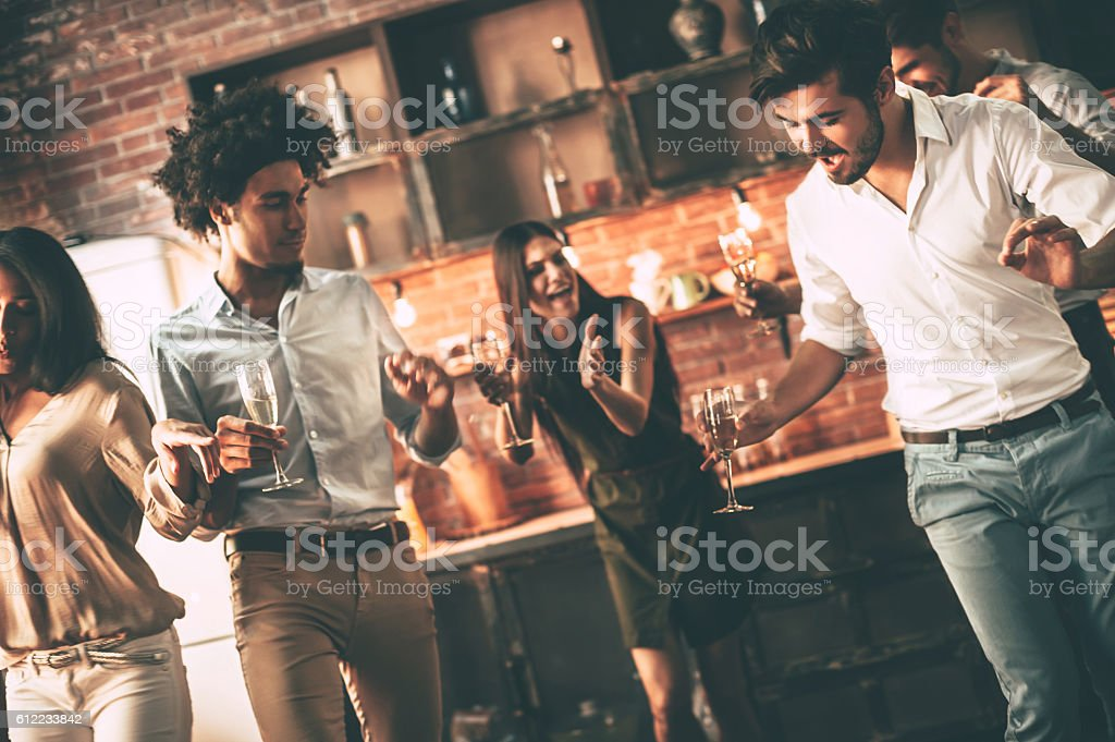 Party every day. stock photo