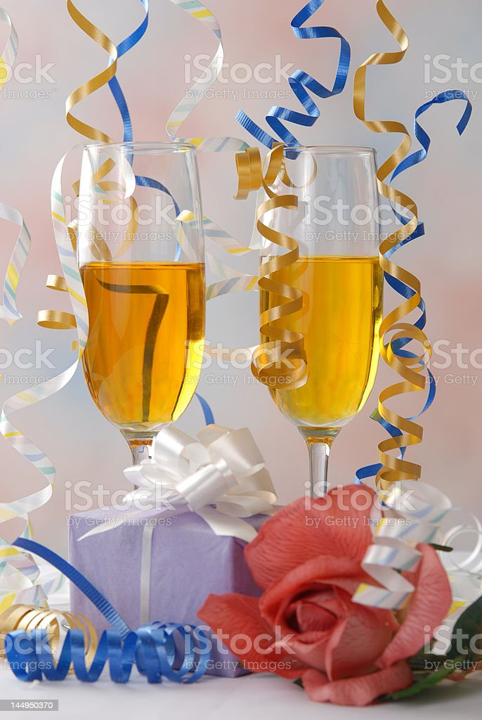 party Favors royalty-free stock photo