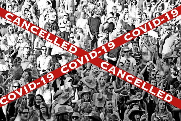 Party, Festival und Veranstaltung wegen Covid-19 abgesagt – Foto