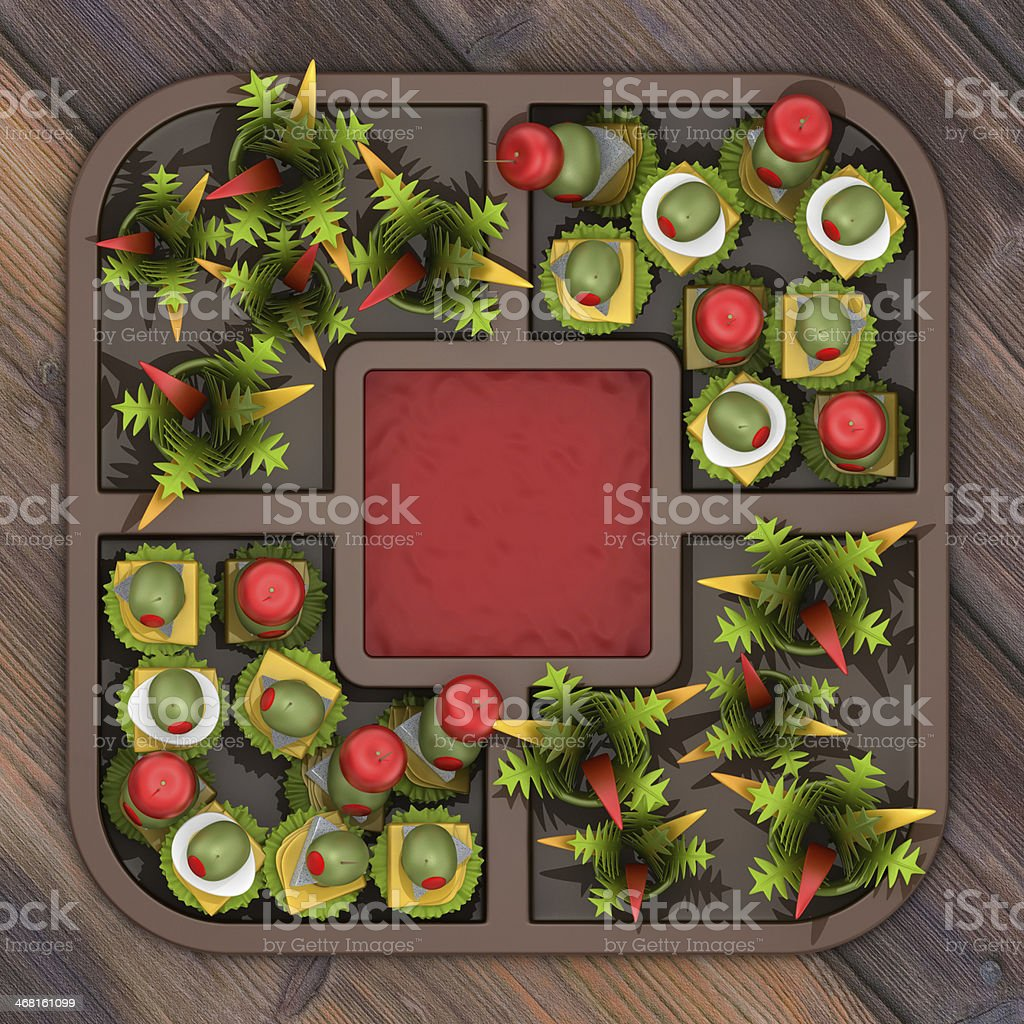 Party Food royalty-free stock photo