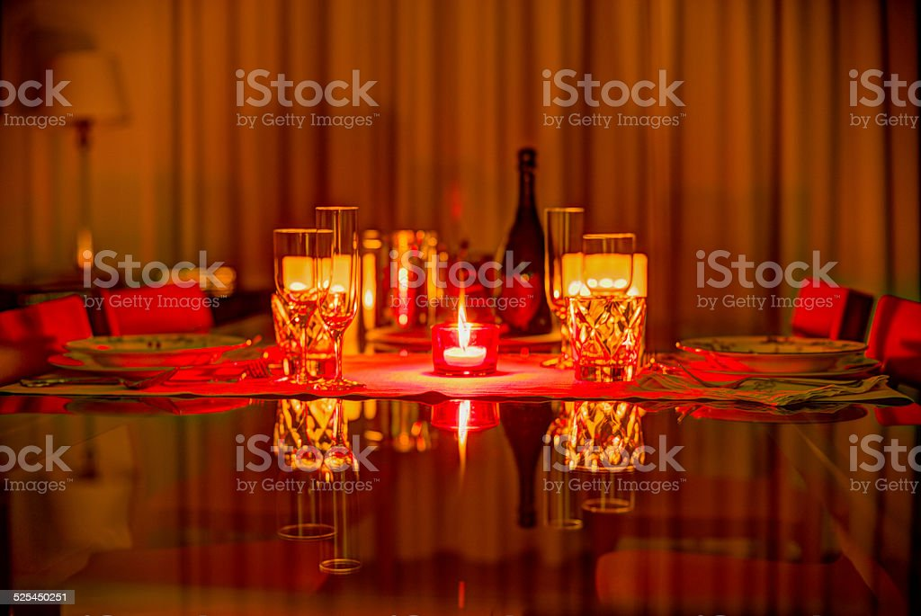 Party for 2 stock photo