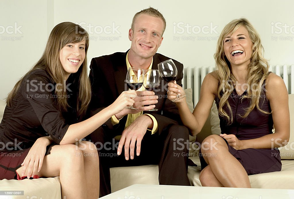 party fun royalty-free stock photo