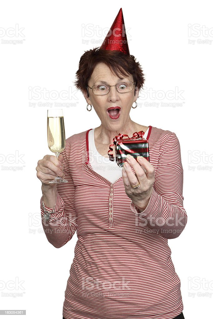 Party gift royalty-free stock photo