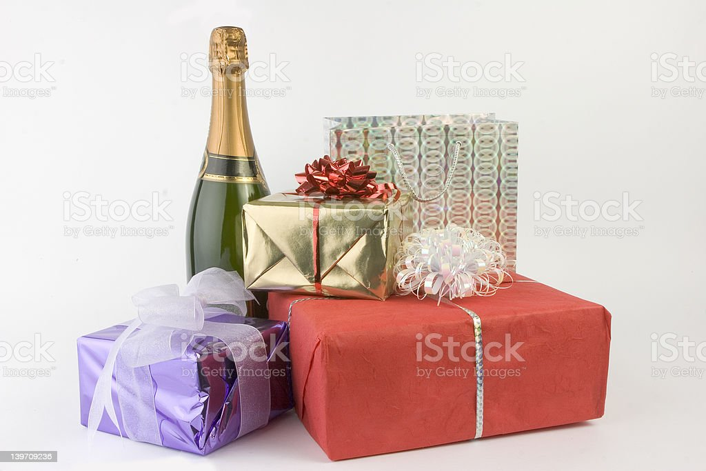 party gifts royalty-free stock photo