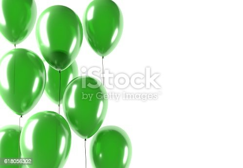 istock party green balloons 618056302