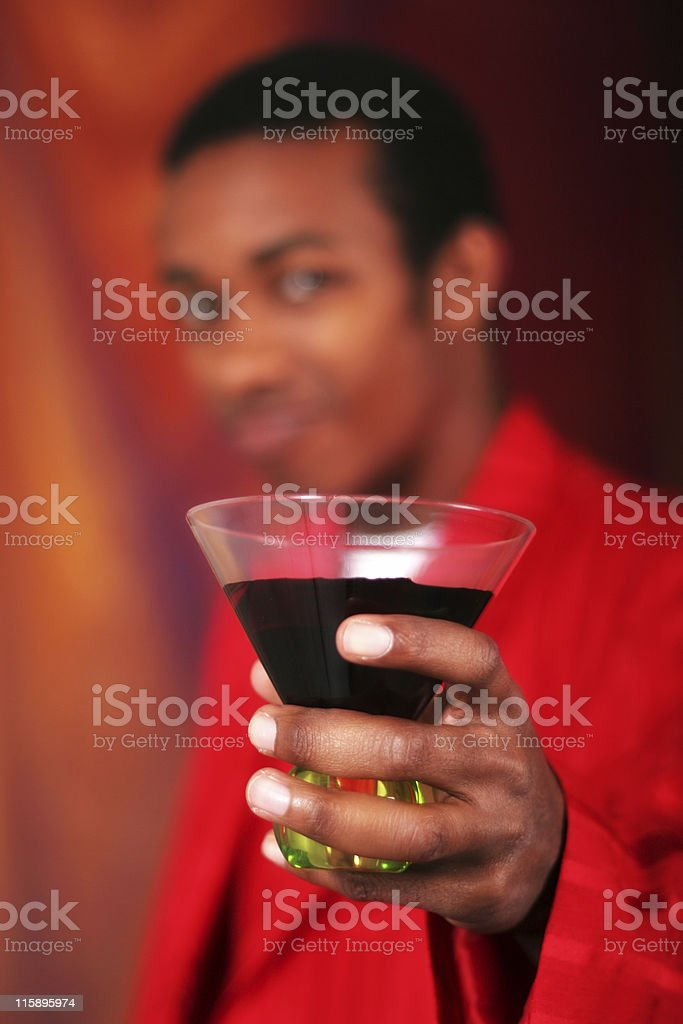 Party Guy stock photo