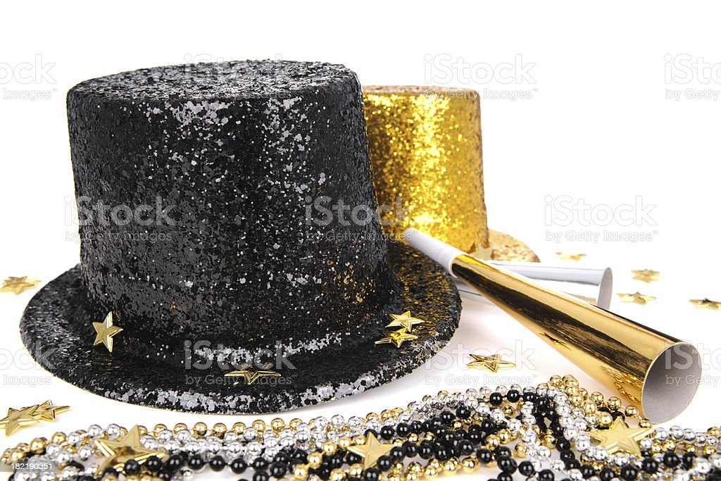 Party Hats And Supplies stock photo