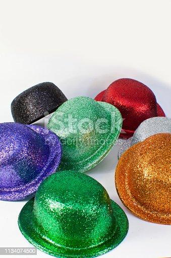 1135969446 istock photo Party Hats 1134074500