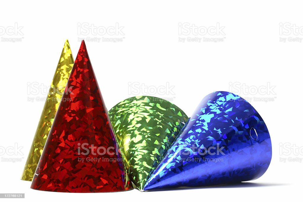 Party Hats royalty-free stock photo