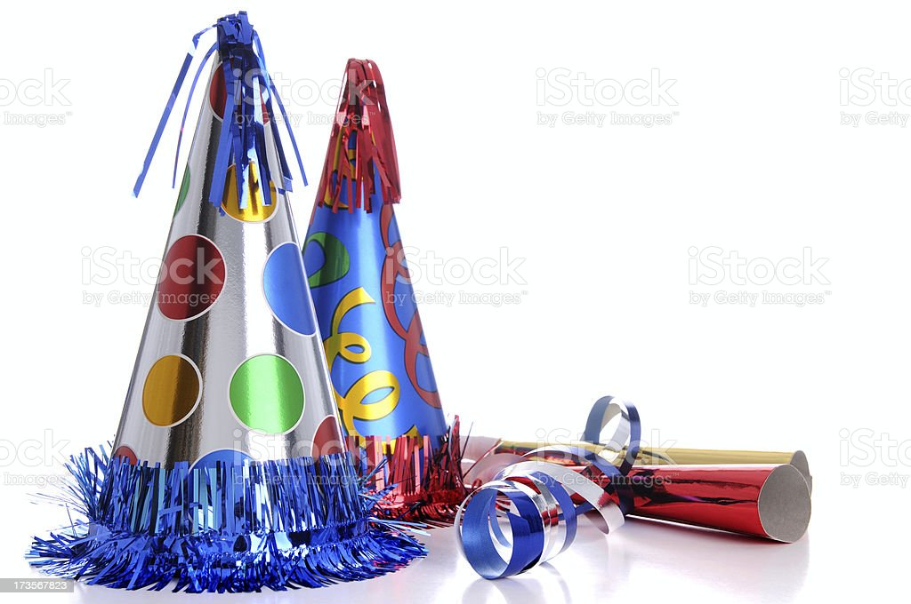 Party Hats! royalty-free stock photo