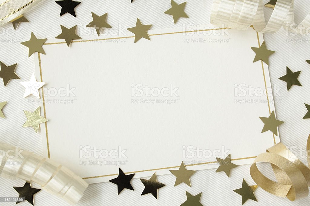 Party Invitation. stock photo