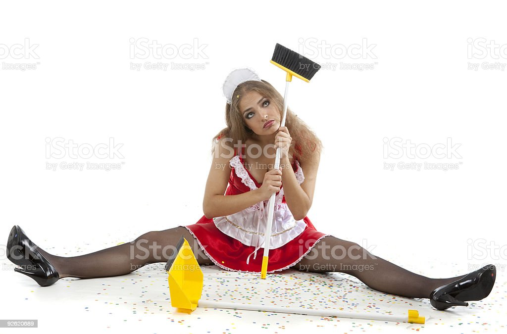 Party is over... royalty-free stock photo