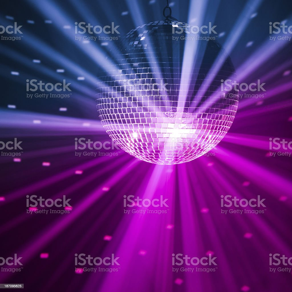 party lights background stock photo