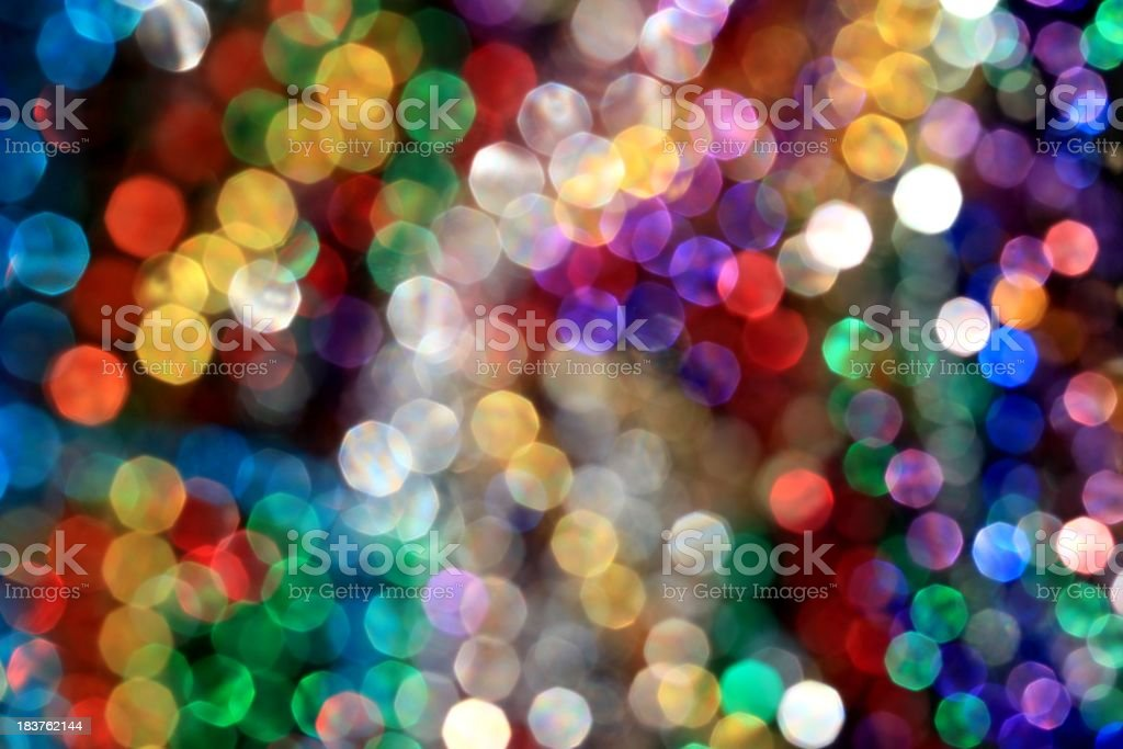 Party lights royalty-free stock photo