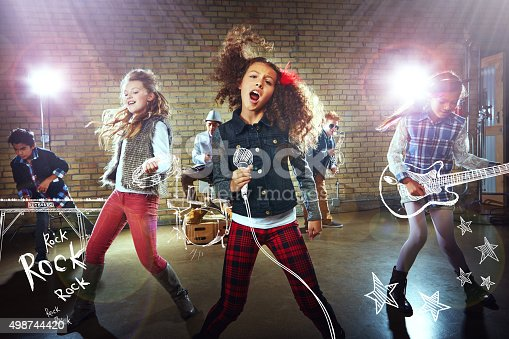 849362192istockphoto Party like a rockstar! 498744420