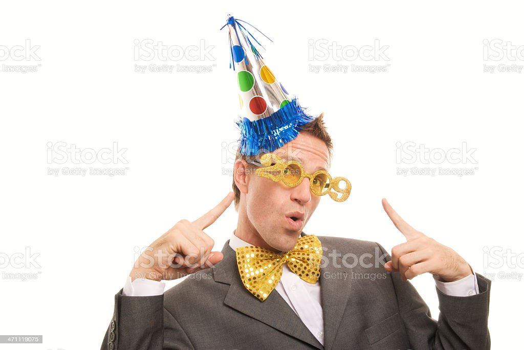 Party Like It's 2009 stock photo