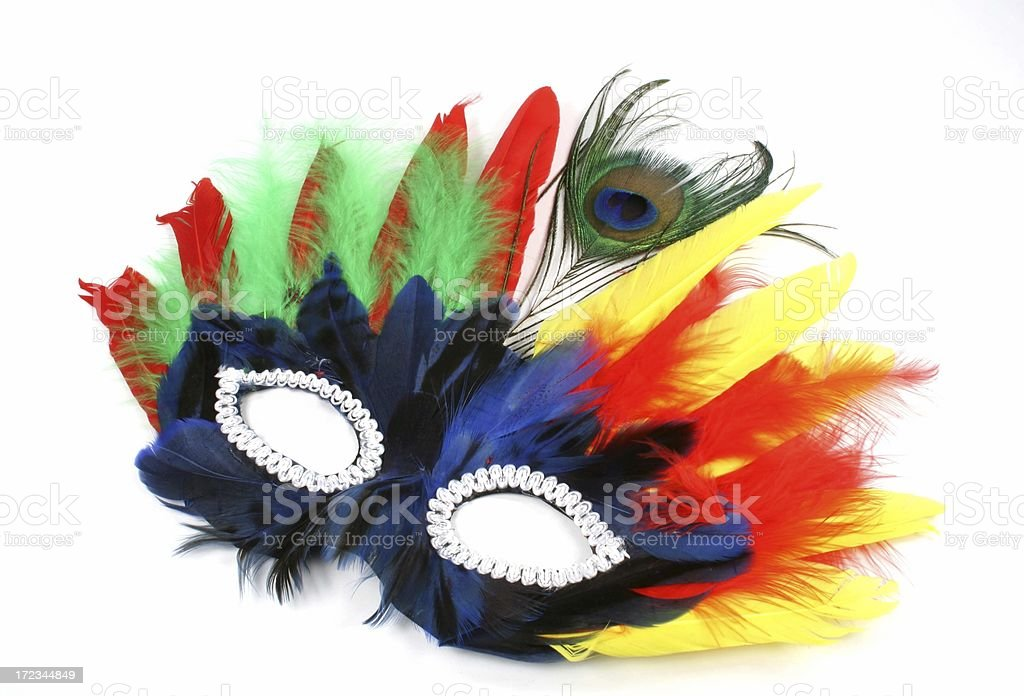 Party Mask - Royalty-free Annual Greenwich Village Halloween Parade Stock Photo
