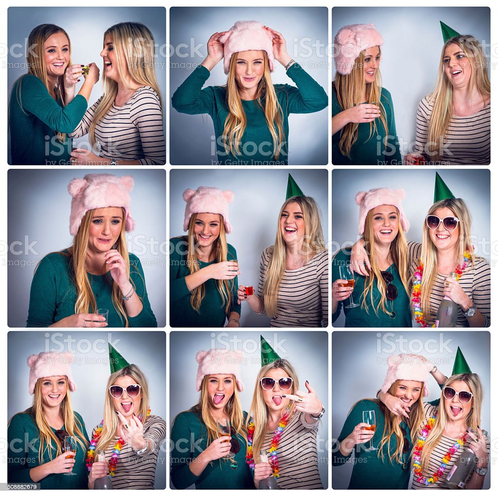 Party memories stock photo