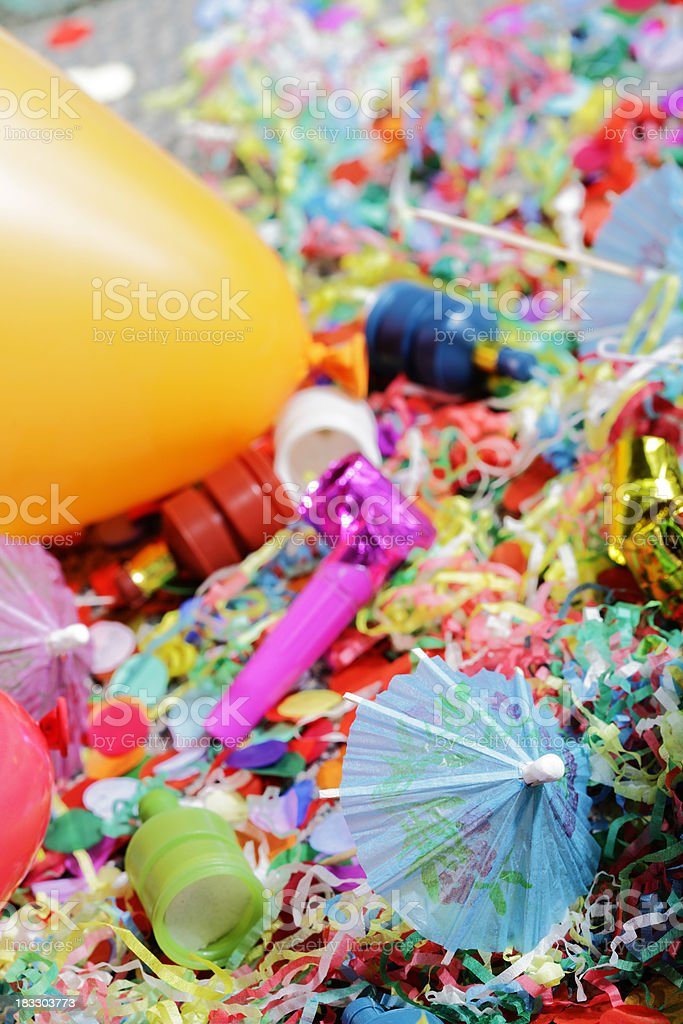Party Mess stock photo