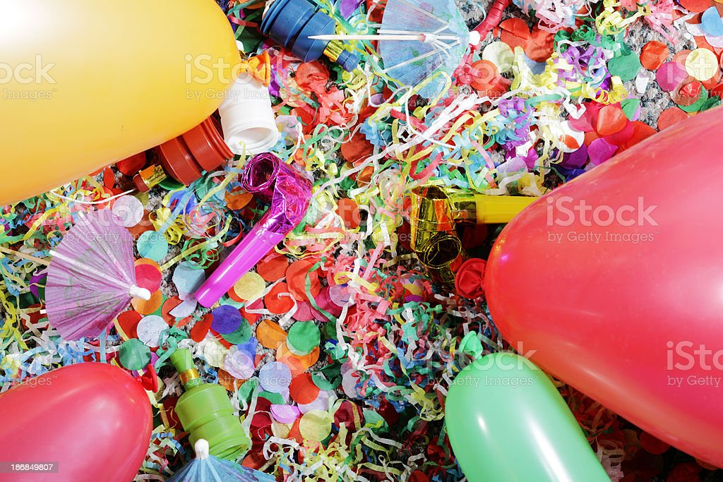 Party Mess royalty-free stock photo