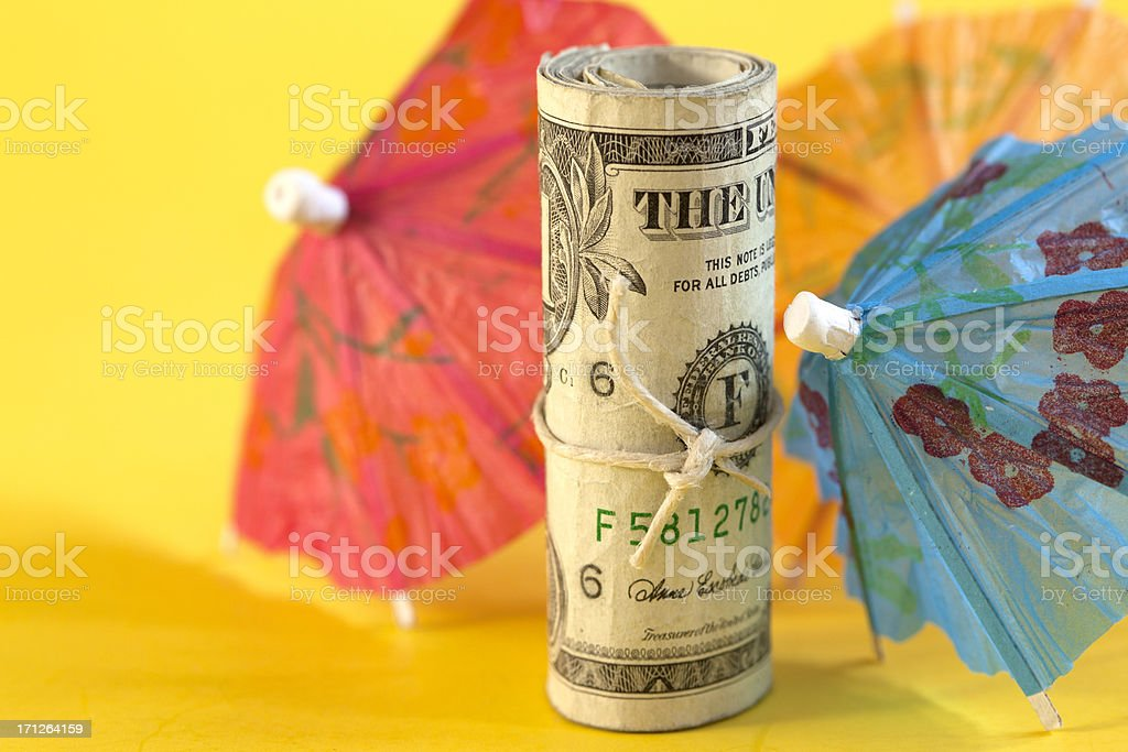Party money royalty-free stock photo