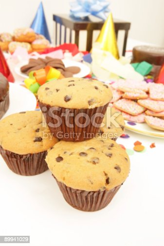 istock Party Muffins 89941029