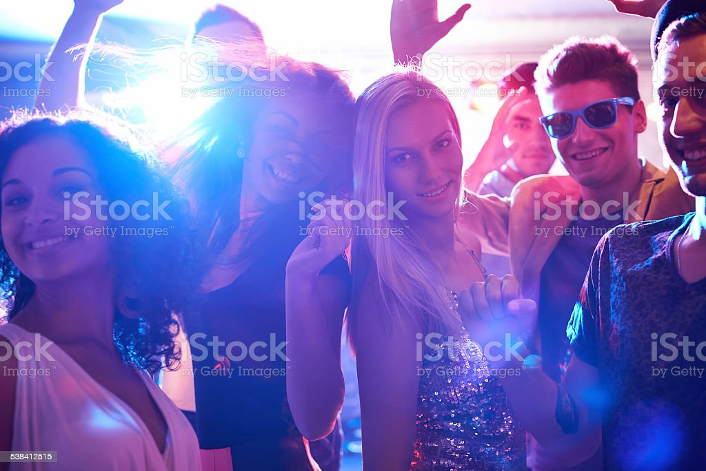 Party never ends stock photo