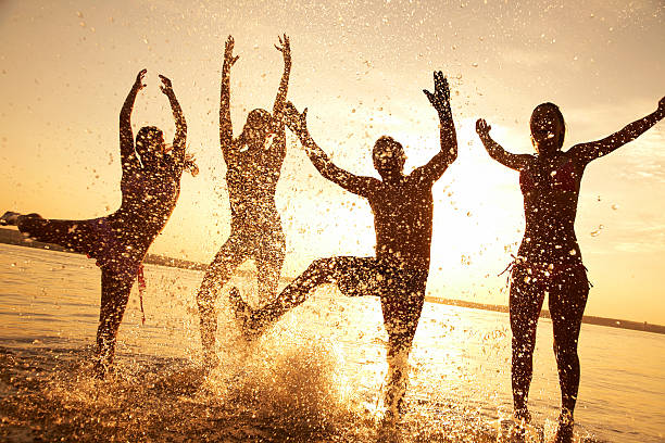 party am Strand – Foto
