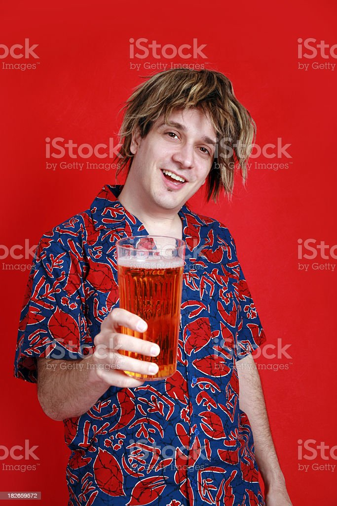 Party On, Dude! royalty-free stock photo