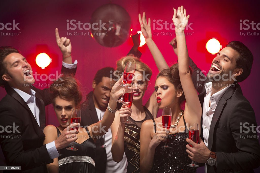 Party. royalty-free stock photo
