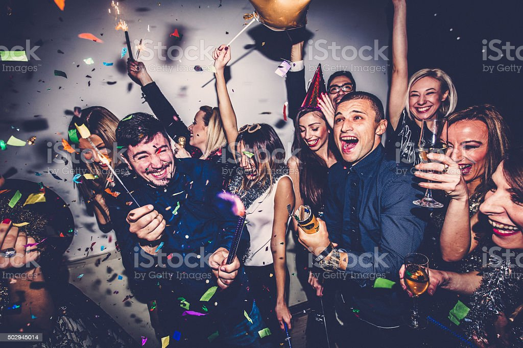 Party! stock photo
