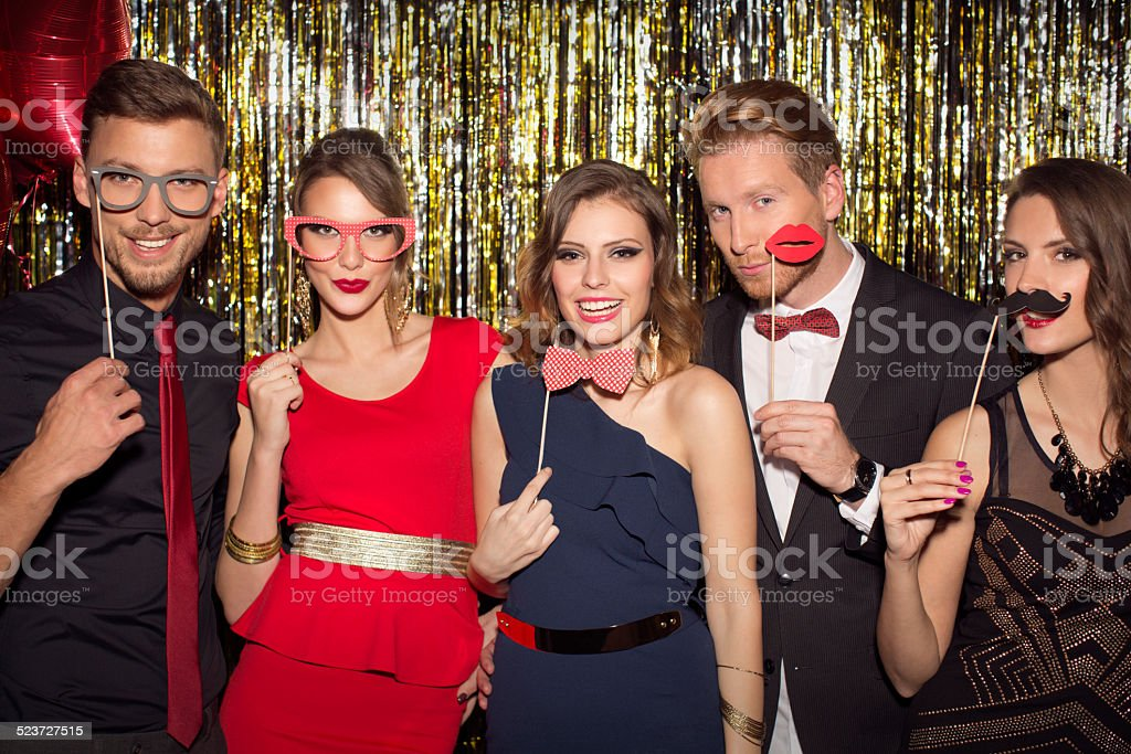 Party. stock photo