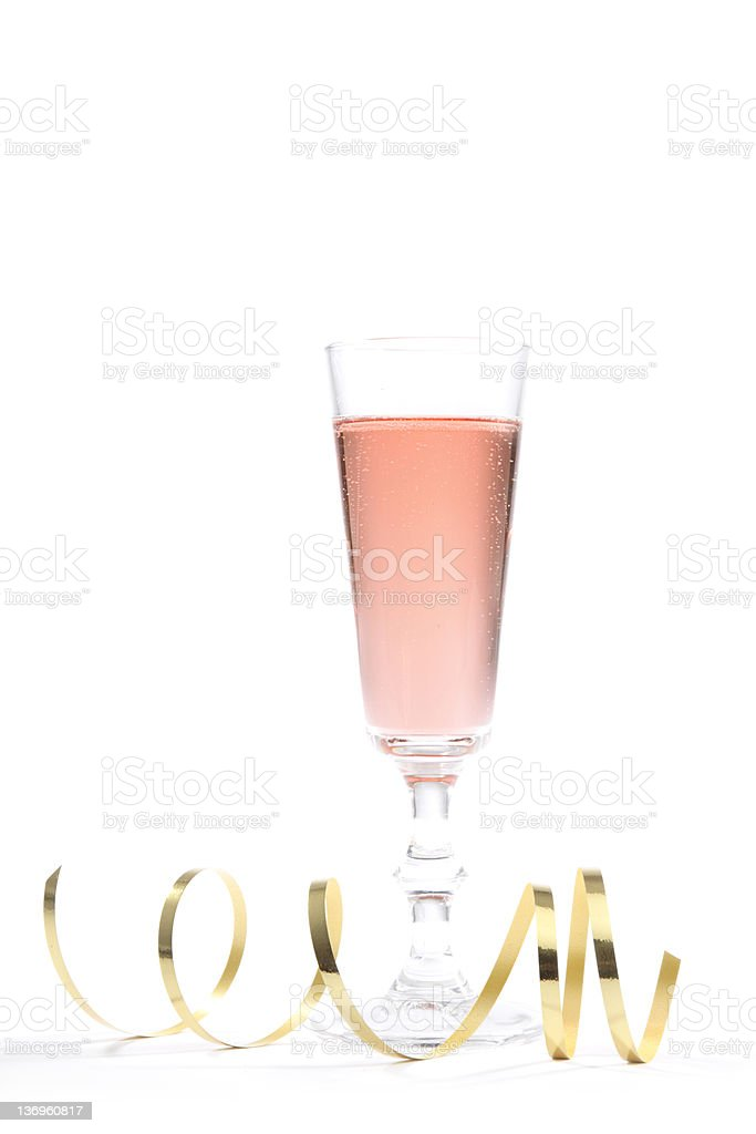 Party Pink Champagne stock photo