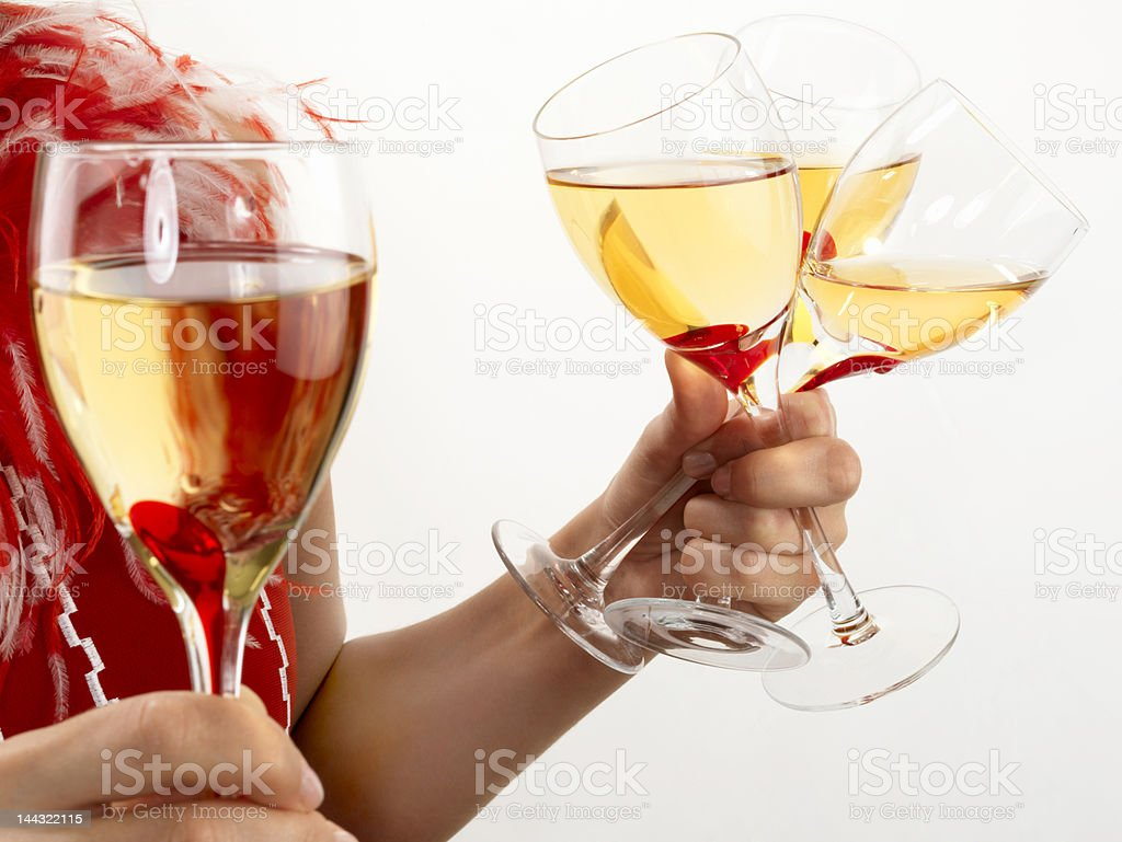 Party Preparation royalty-free stock photo