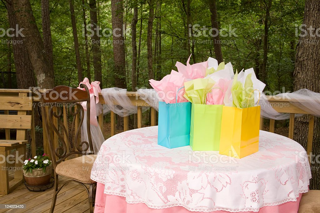Party preparations royalty-free stock photo
