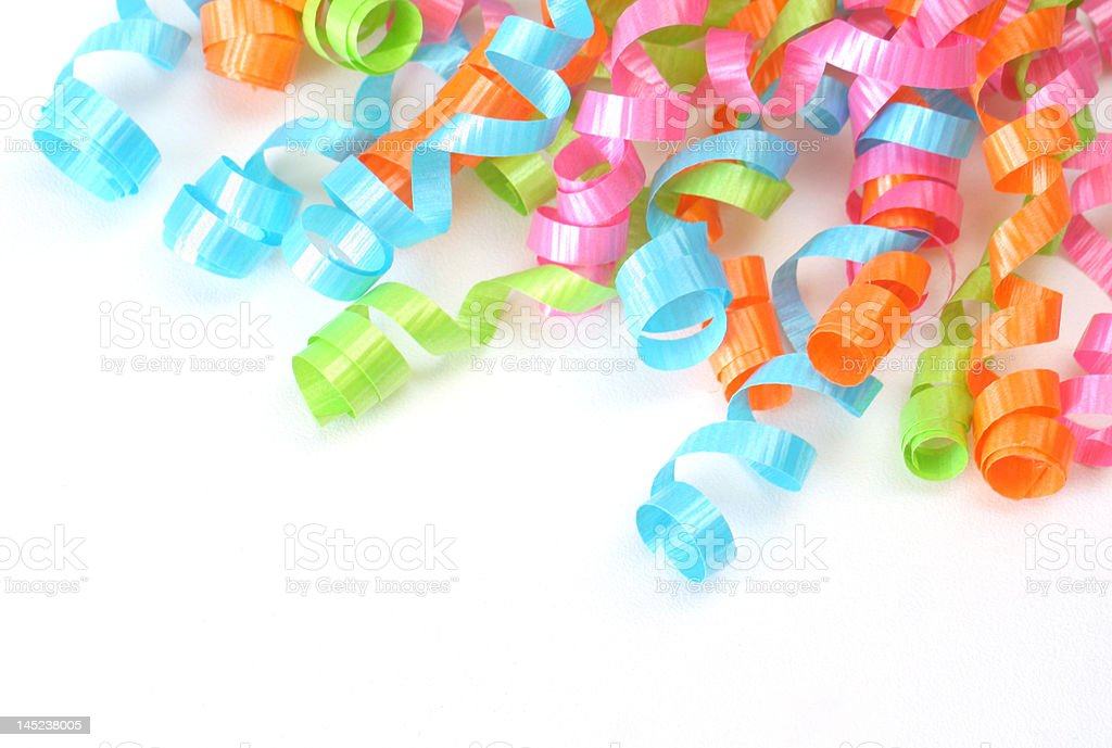 Party Ribbon royalty-free stock photo