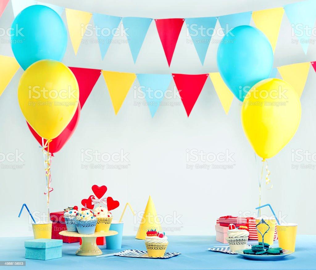 Party set stock photo