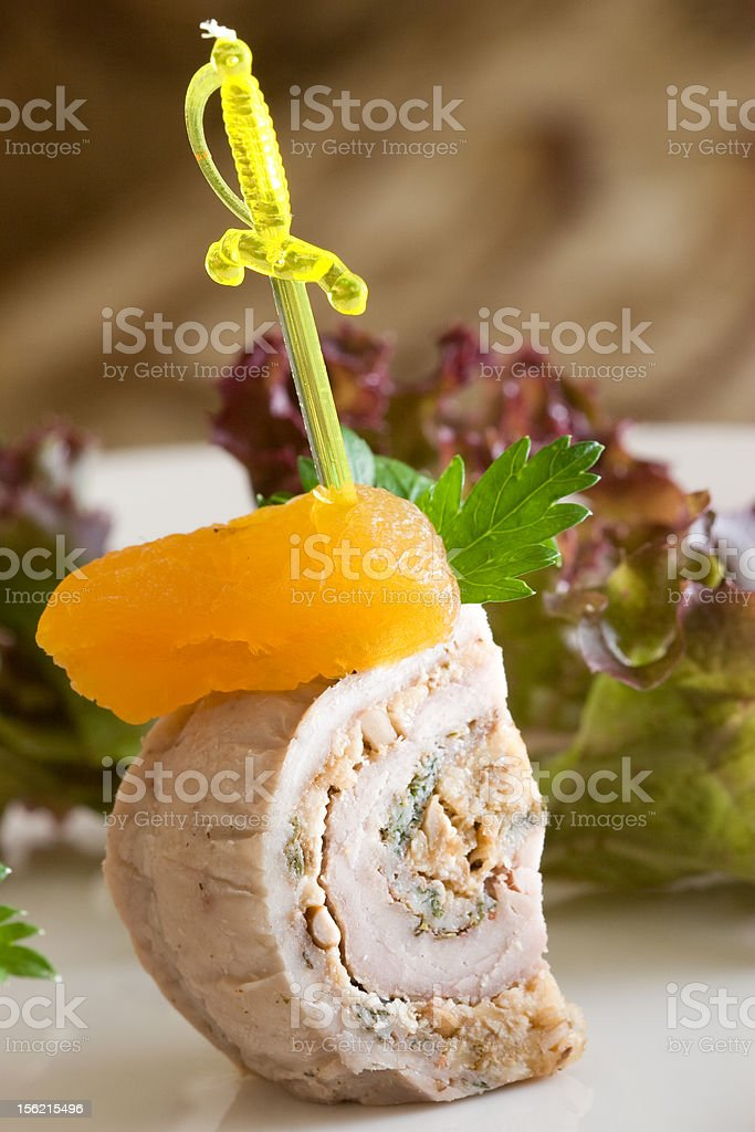 Party snacks royalty-free stock photo