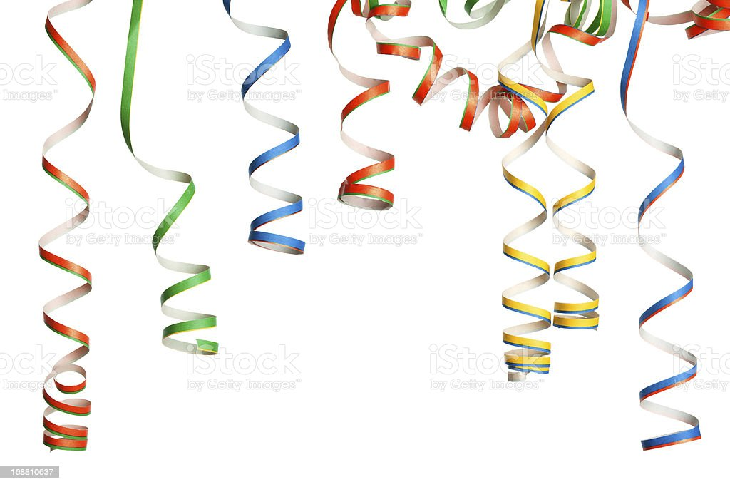 Party - Streamers stock photo