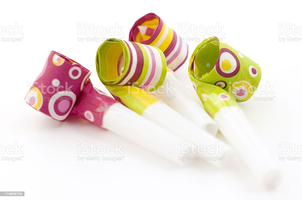 Party Streamers royalty-free stock photo