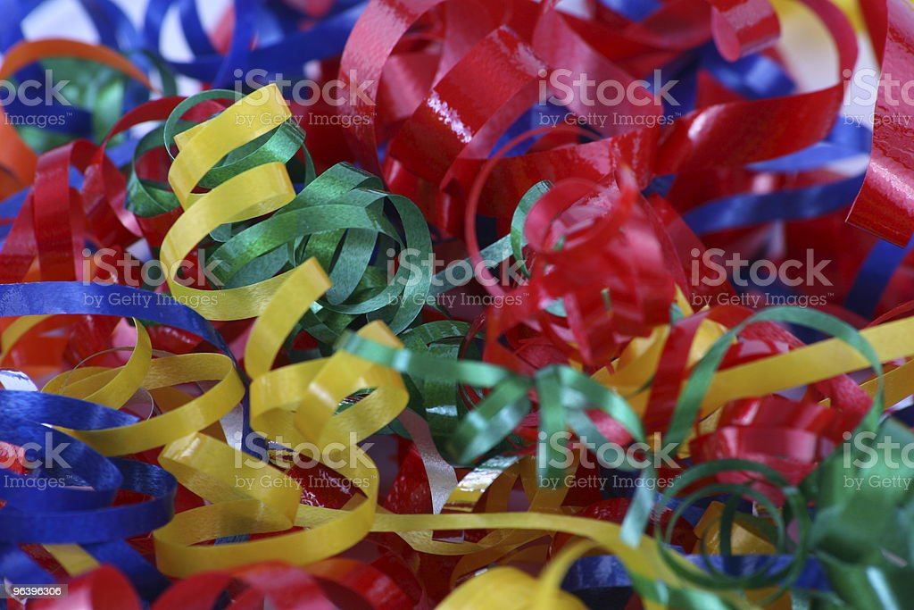 Party Streamers - Royalty-free Anniversary Stock Photo
