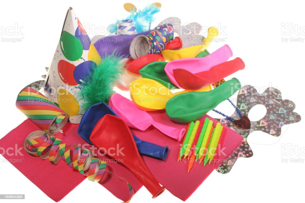 Party Supplies stock photo