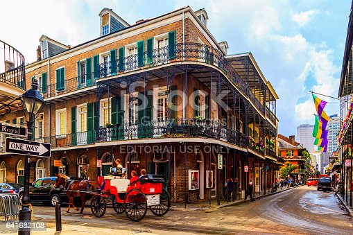 istock Party Time in New Orleans USA . 641682108