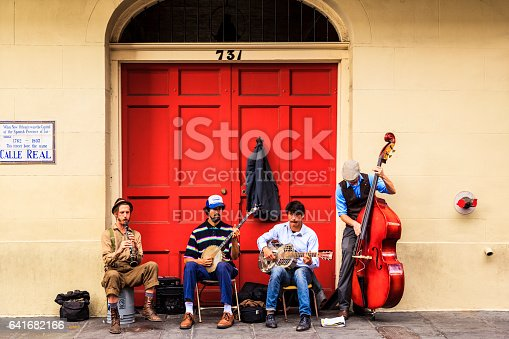 istock Party Time in New Orleans USA . 641682166