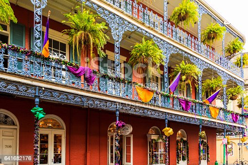 641682476 istock photo Party Time in New Orleans USA . 641682176